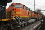 BNSF 4376 second on K140